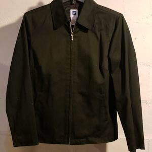 Black fitted Gap jacket